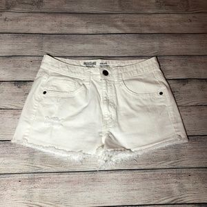 Mossimo Supply Co. White High Rise Shorts Size 9